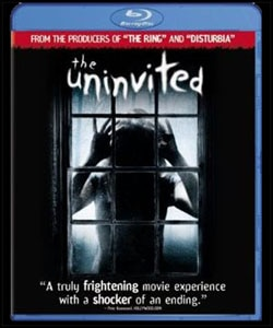 The Uninvited on Blu-ray and DVD (click for larger image)