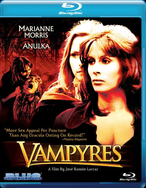 Blue Underground Unleashing Vampyres on Blu-ray