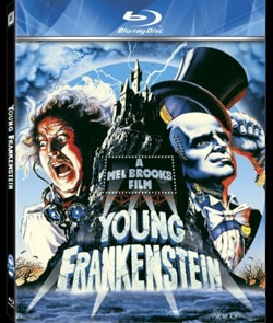 Young Frankenstein on Blu-ray review (click for larger image)