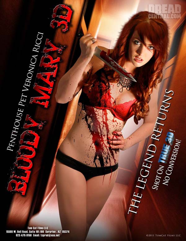Exclusive Set Visit and Images: Bloody Mary 3D