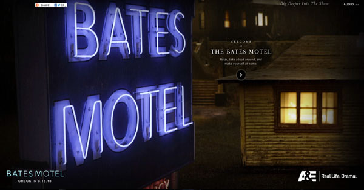 Peep Through the Doors of the Bates Motel