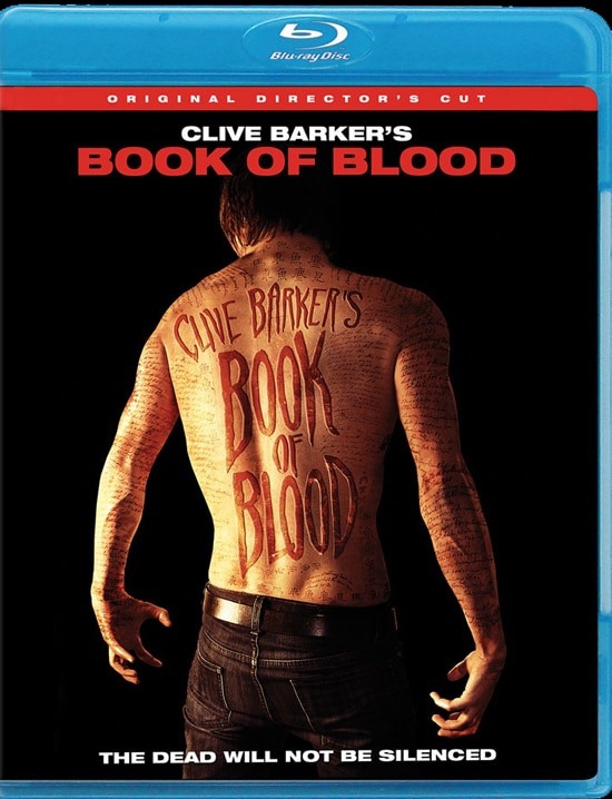 Book of Blood DVD and Blu-ray Art and Specs