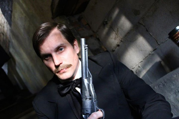 New Abraham Lincoln vs. Zombies Images Reveal Actor Jason Vail as John Wilkes Booth