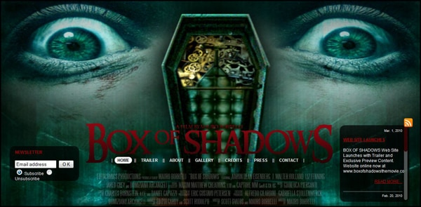 New and Improved Box of Shadows Website and Trailer