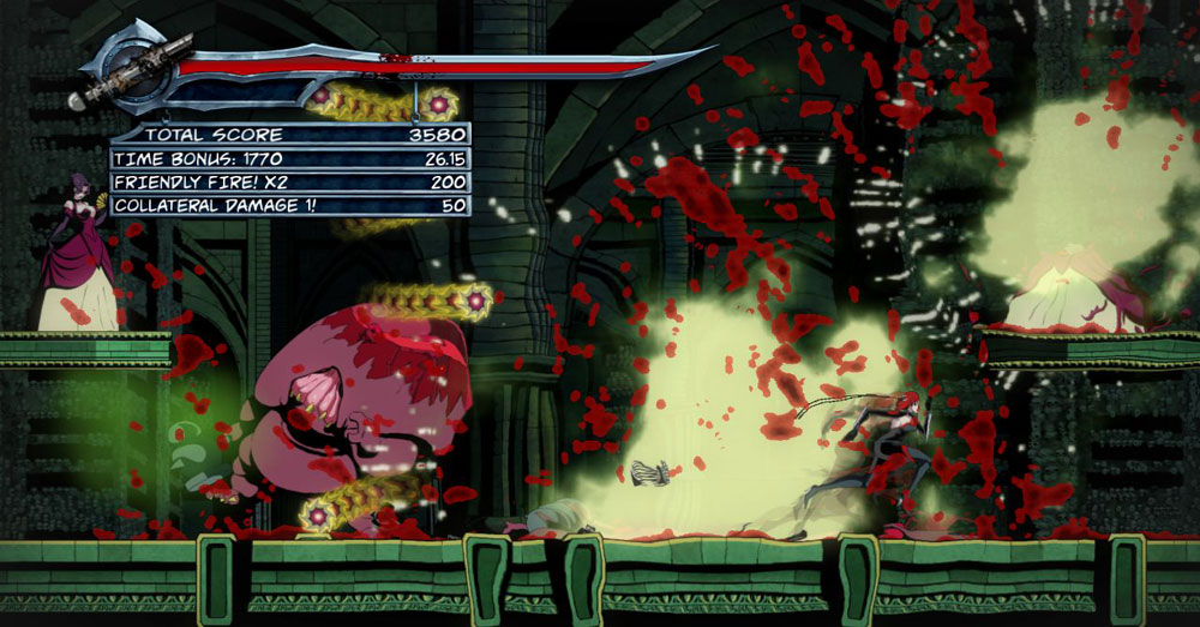Some New BloodRayne: Betrayal Screenshots
