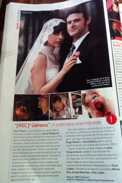 New [REC] 3: Genesis Imagery Shows Off Some Wedded Bliss Before the Carnage