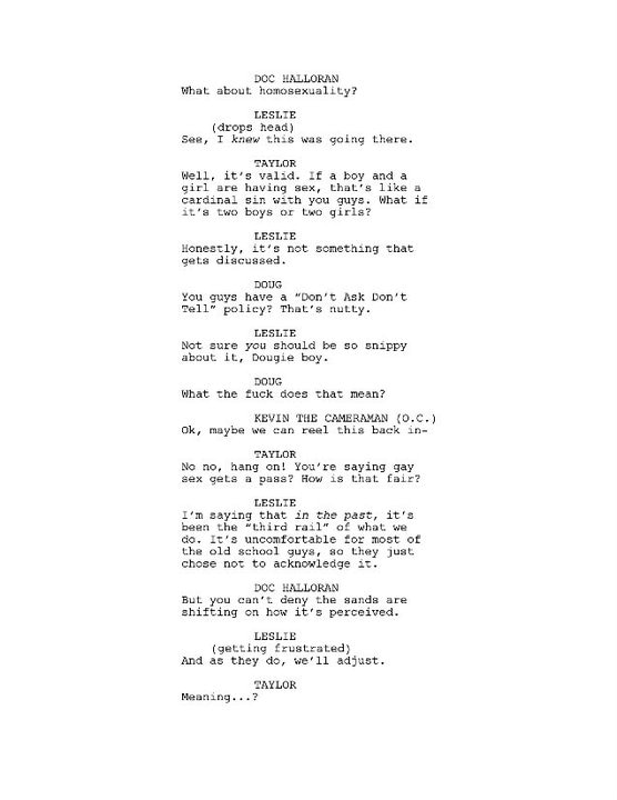 First Script Pages Revealed for Before the Mask: The Return of Leslie Vernon