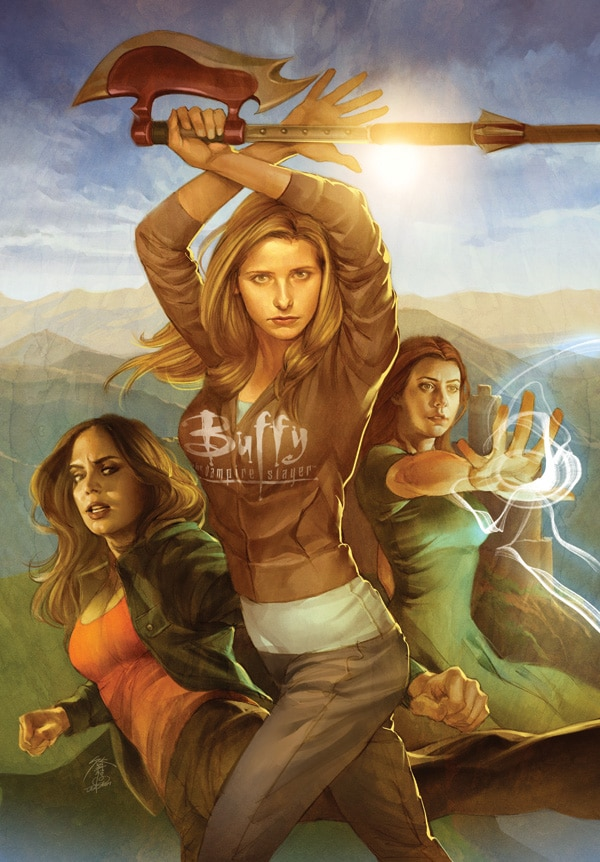 Buffy Fans Rejoice - Season 8 Getting a Hardcover Release & Season 9 Getting Its First Collection!