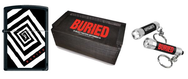 Stay Busy in Your Coffin! Win a Buried Prize Pack!