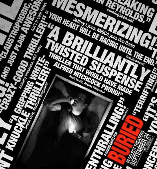Claustrophobia Sets in! New Buried Clip!
