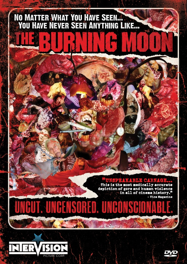 Burning Moon Ready to Stain the World Red