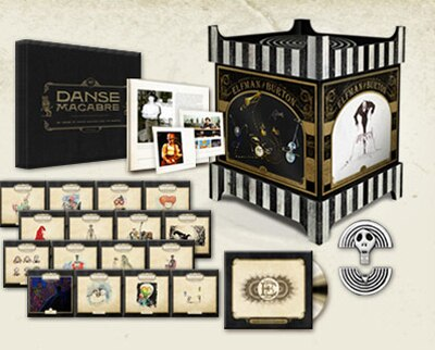 The Danny Elfman & Tim Burton 25th Anniversary Music Box Coming in December