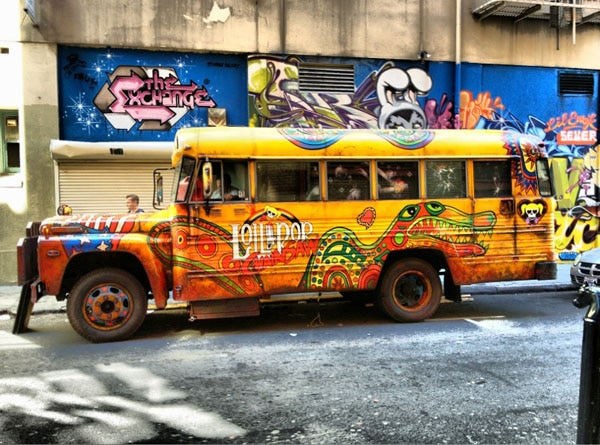 The Magic of Making the Lollipop Chainsaw Bus