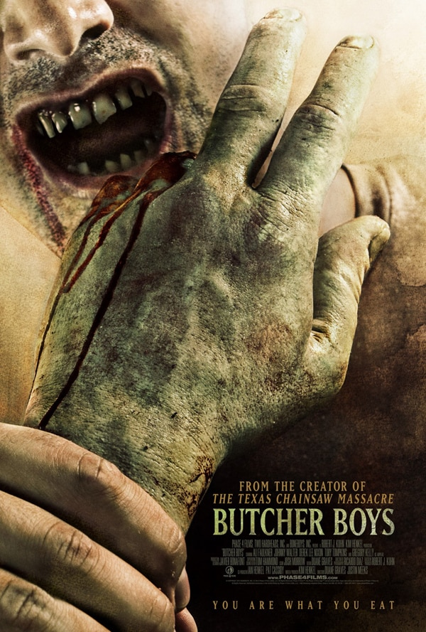 butcher boys poster - Boneboys Gets a New Title and One-Sheet; Gnaw on This New Artwork for Butcher Boys