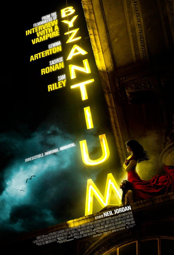 Gemma Arterton on the Lookout in New Byzantium Image