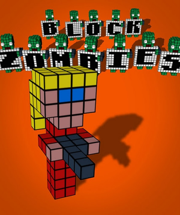 New Indie Game Block Zombies Hungry for Attention