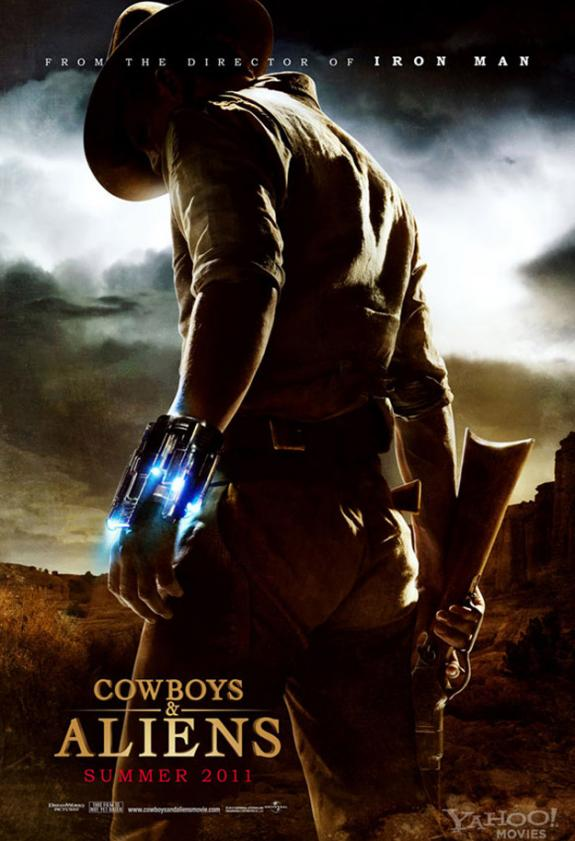 Jon Favreau's Cowboys and Aliens Verging on Horror?