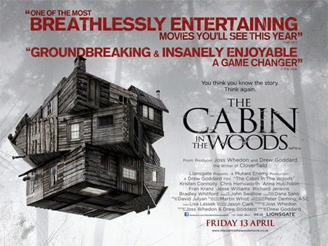 Cabin in the Woods Gets a Quad