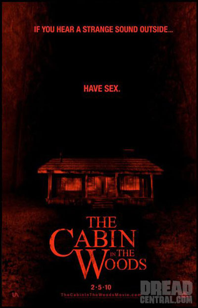 Three Teaser Posters -- The Cabin in the Woods