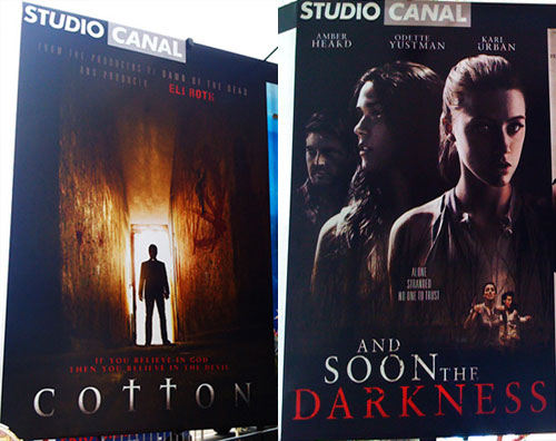 Cannes: Posters for And Soon the Darkness, Cotton, and More!
