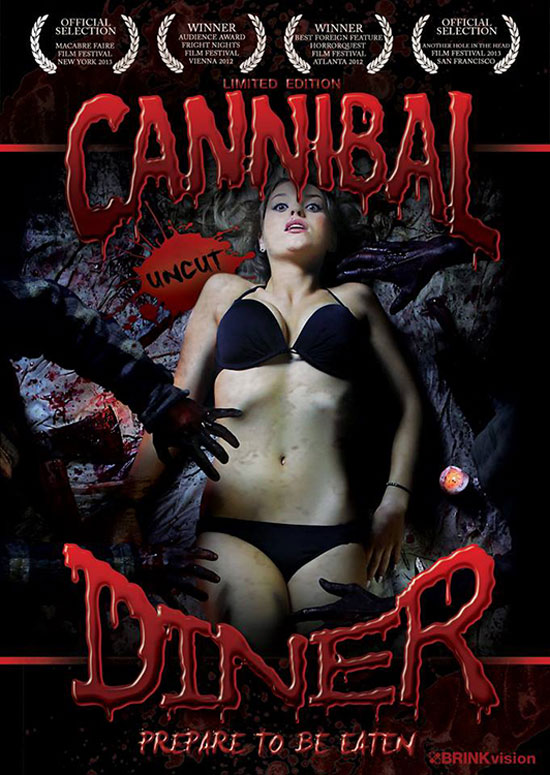 Official Artwork Unveiled for Cannibal Diner's Uncut DVD Release