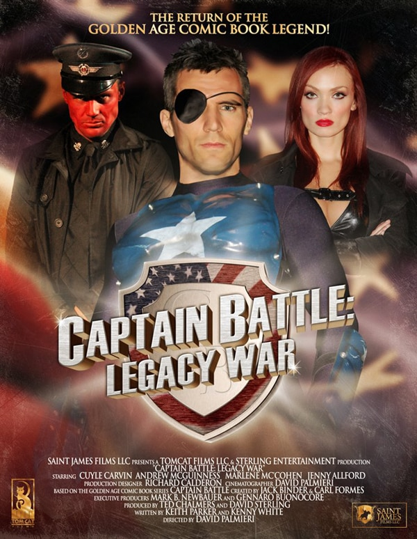 Cuyle Carvin Fights Living Dead Soldiers from the Third Reich in Captain Battle: Legacy War