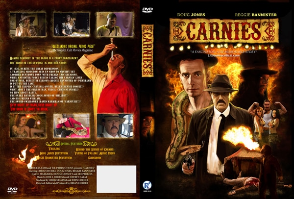 Carnies DVD Art Brings on the Freak Show (click for larger image)