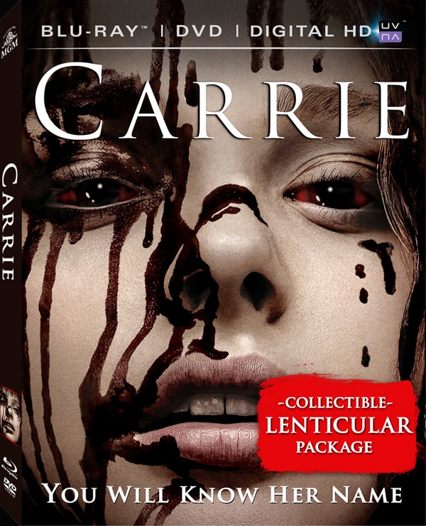 carrie blu ray - Dread Central Gore Whore Vanessa Gomez Gets Bloody for Carrie