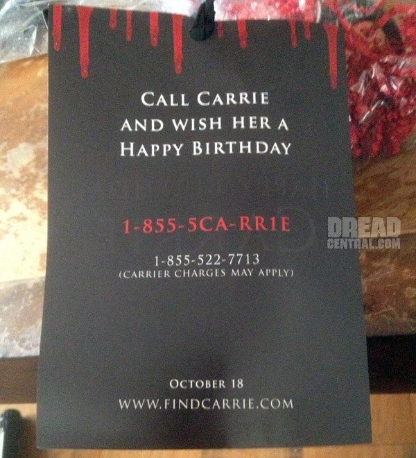 carrie cup 2 - Pick Up Your Phone and Wish Carrie a Happy Birthday