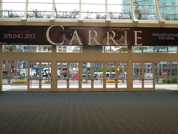 San Diego Comic-Con 2012: Carrie Stares Down Hall H (click for larger image)