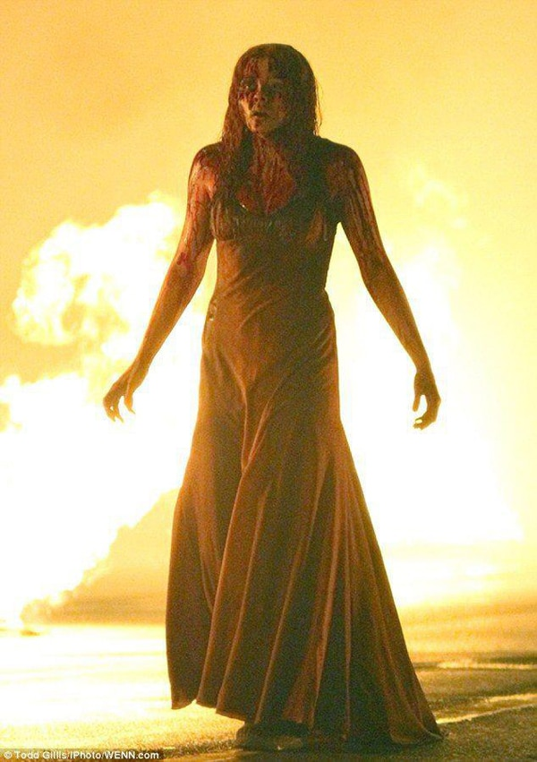 Fiery New Still From Carrie