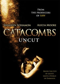 Catacombs on DVD (click to see it bigger!)