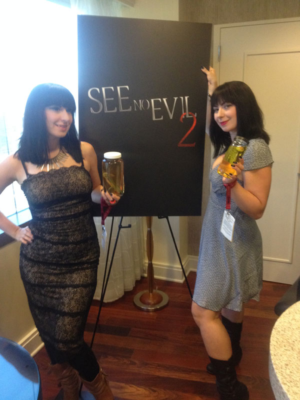 cc soska - #SDCC14 Exclusive: Danielle Harris, Kaj-Erik Erikson, and The Soska Sisters Talk See No Evil 2