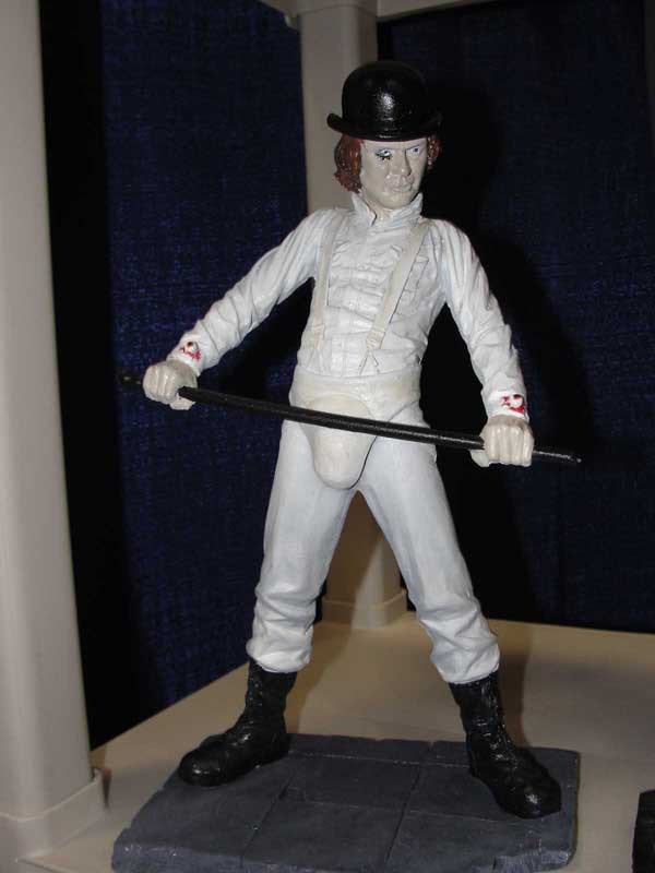 San Diego Comic-Con 2011: Better Look at Retro Outlaw's A Clockwork Orange Collectible (click for larger image)