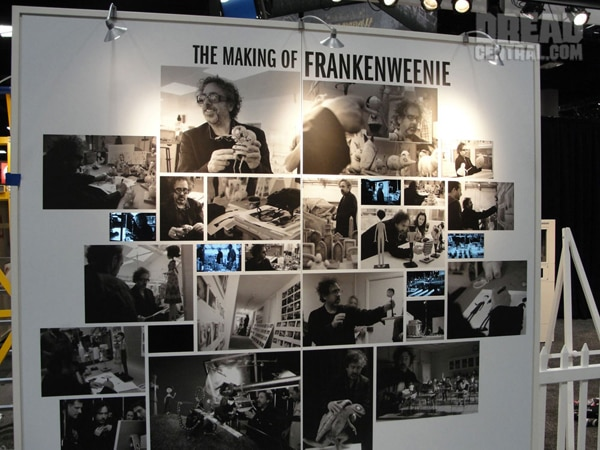 San Diego Comic-Con 2012: A Look at The Making-of Frankenweenie Art Exhibit (click for larger image)