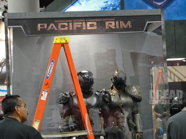 San Diego Comic-Con 2012: Suit Up with Pacific Rim (click for larger image)