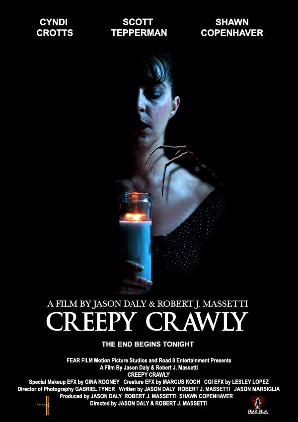 ccrawl - Exclusive: Trailer Debut and Interview with Robert J. Massetti for His New Short Film Creepy Crawly
