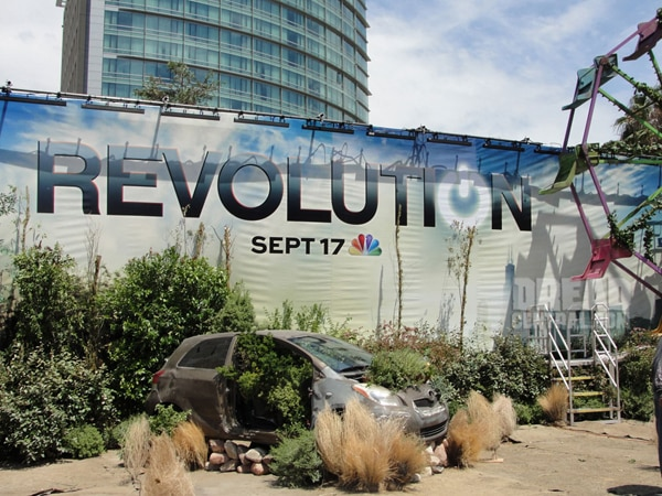 San Diego Comic-Con 2012: Revolution Turns San Diego into a Post-Apocalyptic Wasteland