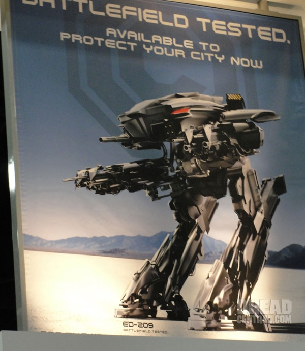 San Diego Comic-Con 2012: RoboCop - Another Look at ED-209 (click for larger image)