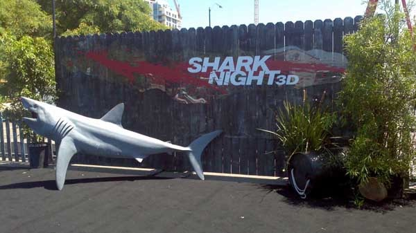 San Diego Comic-Con 2011: Shark Night 3D - Say Hello to the Bad Guy! (click for larger image)
