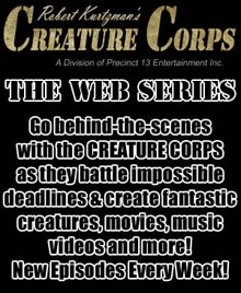 Robert Kurtzman's Creature Corps Launching Reality Web Series