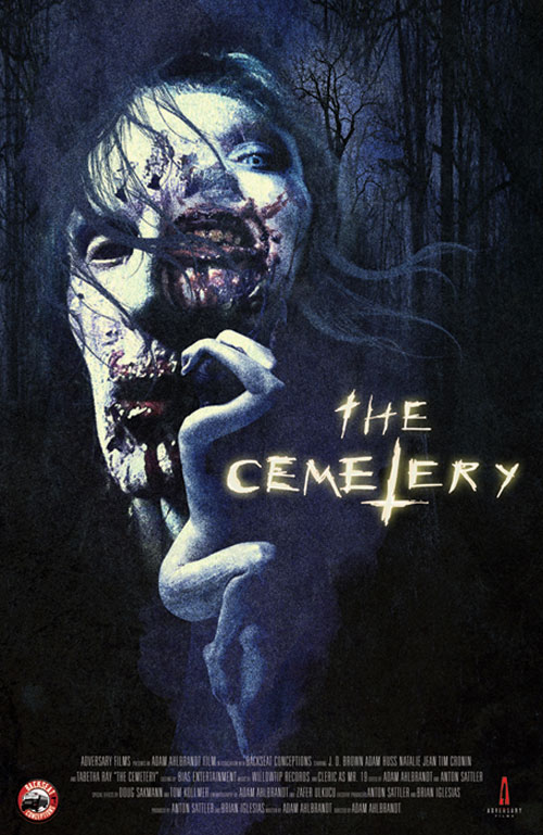 Artwork, Stills, and Trailers for Horror Double Feature Cross Bearer and The Cemetery