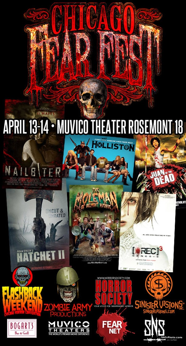 Chicago Fear Fest - Final Schedule Online! Start Making Plans!
