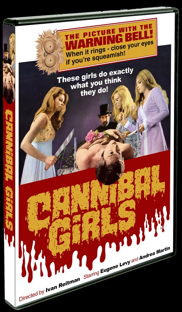 Cannibal Girls Eating Their Way to DVD