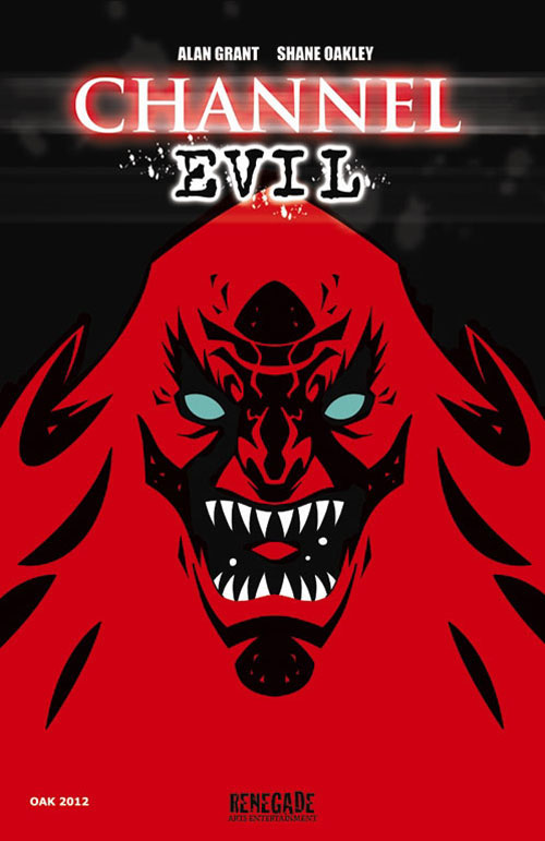 Grant/Oakley Collaboration Channel Evil TPB Coming in March
