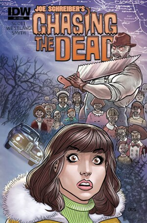New Horror Mini-Series Chasing the Dead Coming in November from IDW
