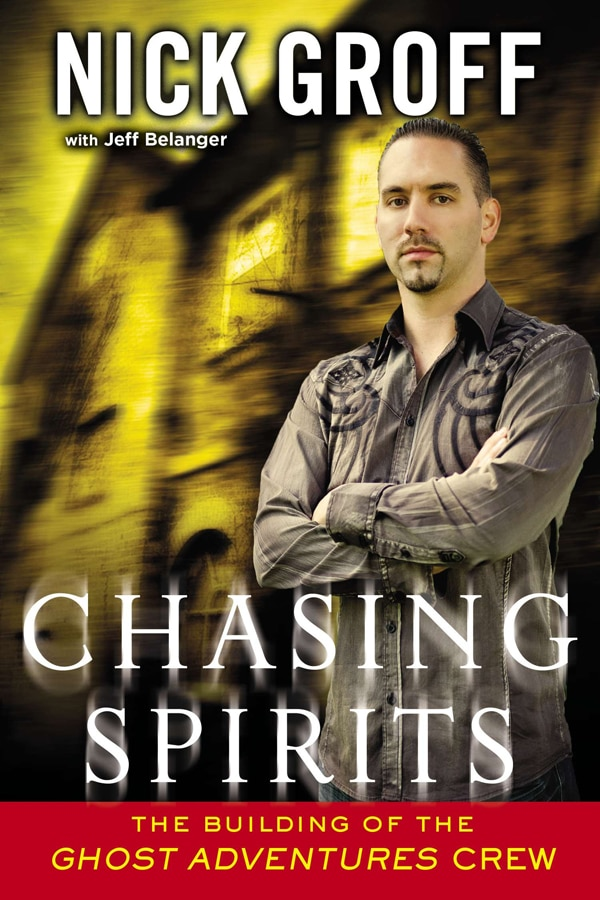 chasp - Ghost Adventures' Nick Groff Chasing Spirits in Print