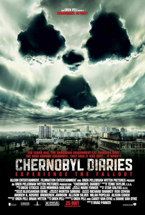 Second Clip from Chernobyl Diaries is Contaminated