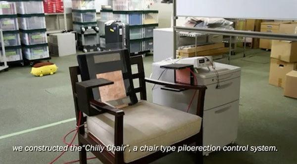 New Chilly Chair Enhances Horror Movies with Hair-Raising Results