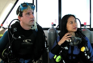 director Chris Kentis and producer Laura Lau